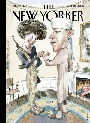 Obama New Yorker Cover