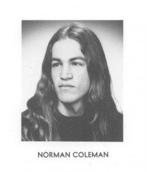 Norm Coleman -- Hippie