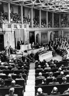 Truman Addresses Congress