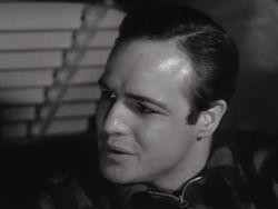 1954 Marlon Brando in On the Waterfront