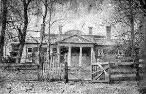 Monticello in Ruins