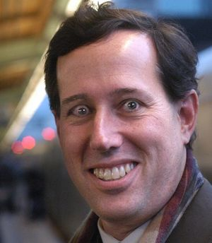 Santorum - crazy eyes