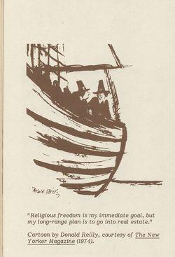 Pilgrim Cartoon
