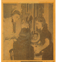 Mom and Lillian Gish